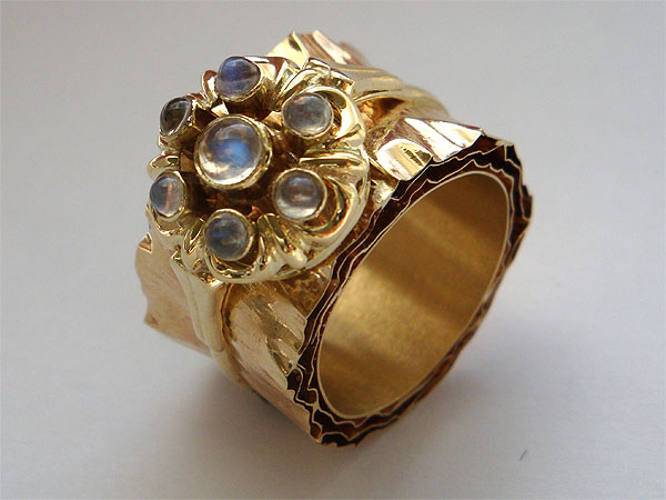 Paulien Schipper goudsmid vintage ring