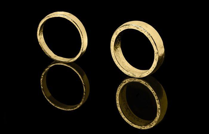 Unieke trouwringen van puur goud